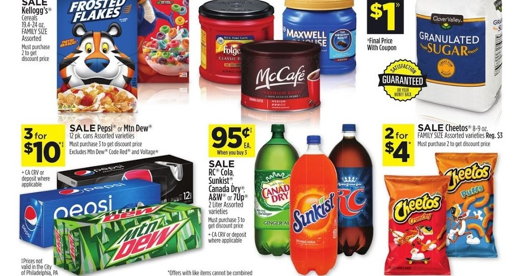 Dollar General Sales Ad January 12 18 2020