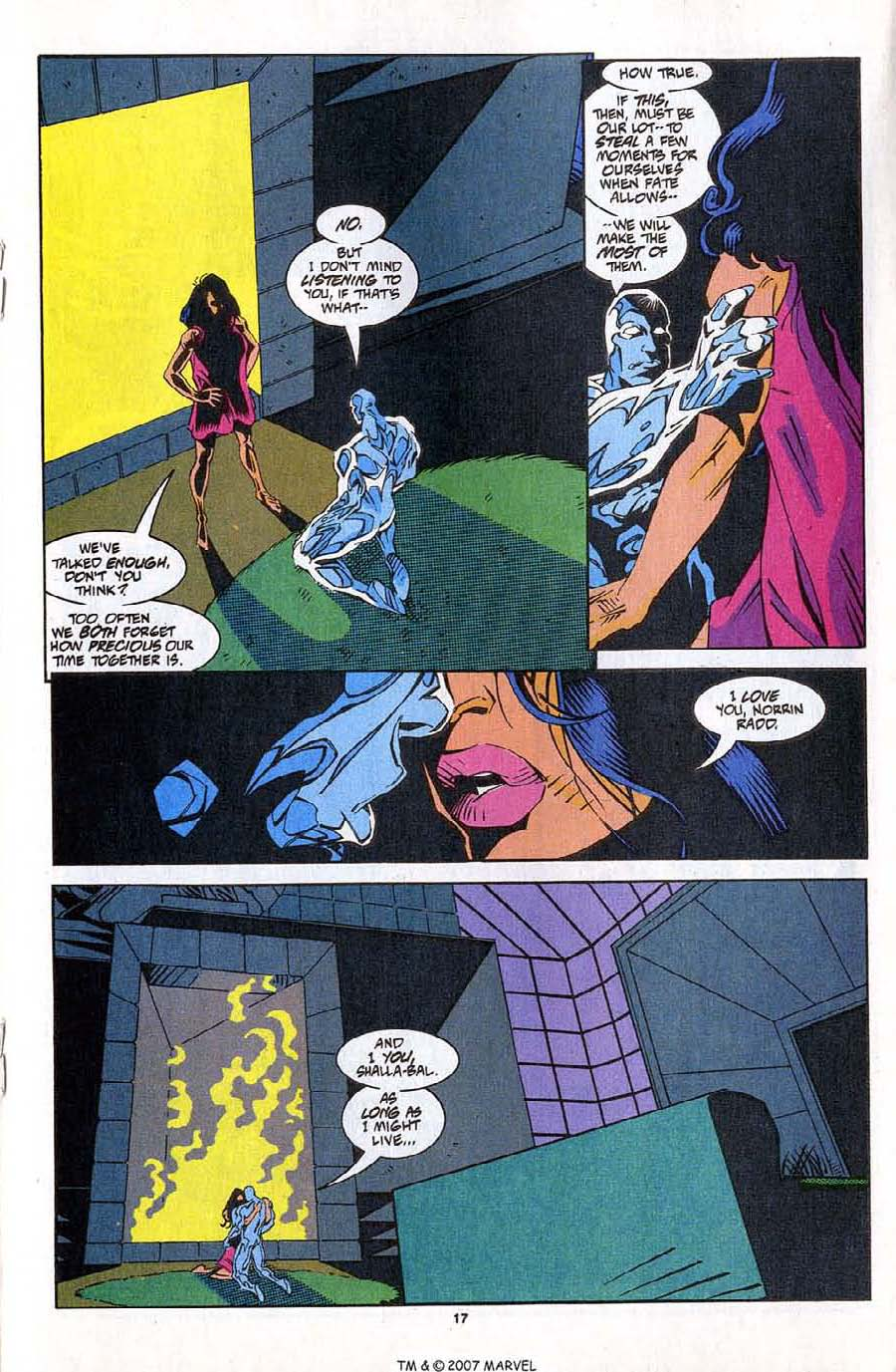 Read online Silver Surfer (1987) comic -  Issue #83 - 19