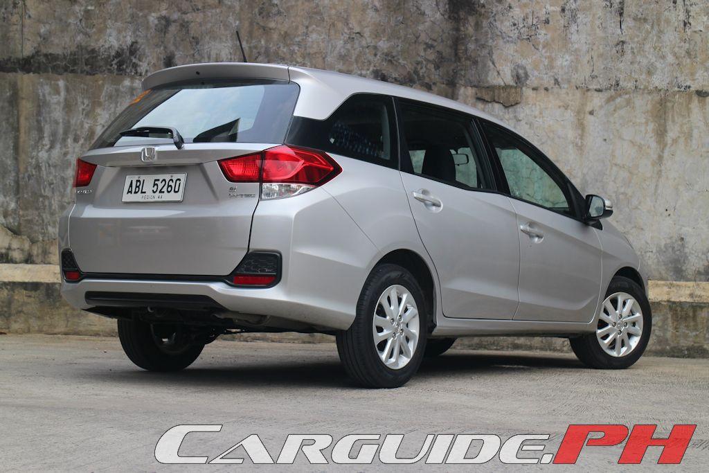 Review 2015 Honda Mobilio 1 5 V Philippine Car News