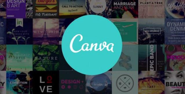 Aplikasi Canva design proffesional