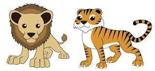 शेर और चीता