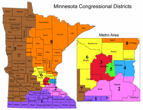 Triogenius: Vote! on southeast mn congressional districts, mn house districts, texas congressional districts, minnesota districts, map ca congressional districts, mn state congressional districts, map of mn judicial districts,