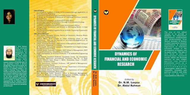 dynamics of financial & Ecnomic research