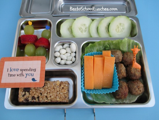 bento school lunches bento lunch meatballs bento from. Black Bedroom Furniture Sets. Home Design Ideas