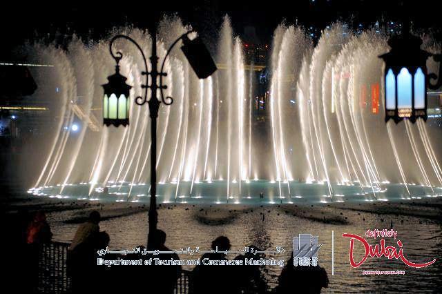 The Dubai Fountain (C) DTCM