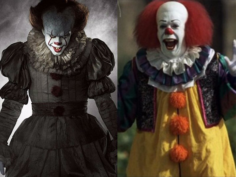 Old Vs New Pennywise The Clown Costumes  sc 1 st  Halloween Costumes 2017 & Halloween Costumes 2017: Pennywise The Clown From Stephen Kingu0027s It ...