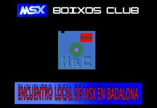 Encuentro local MSX Badalona - Mayo 2017