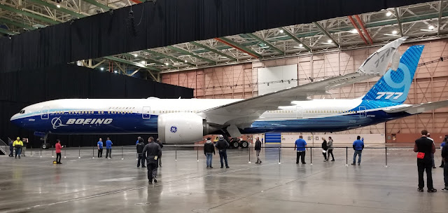 Boeing 777X - Son çıkan modeli 2019 yılında sunuldu...