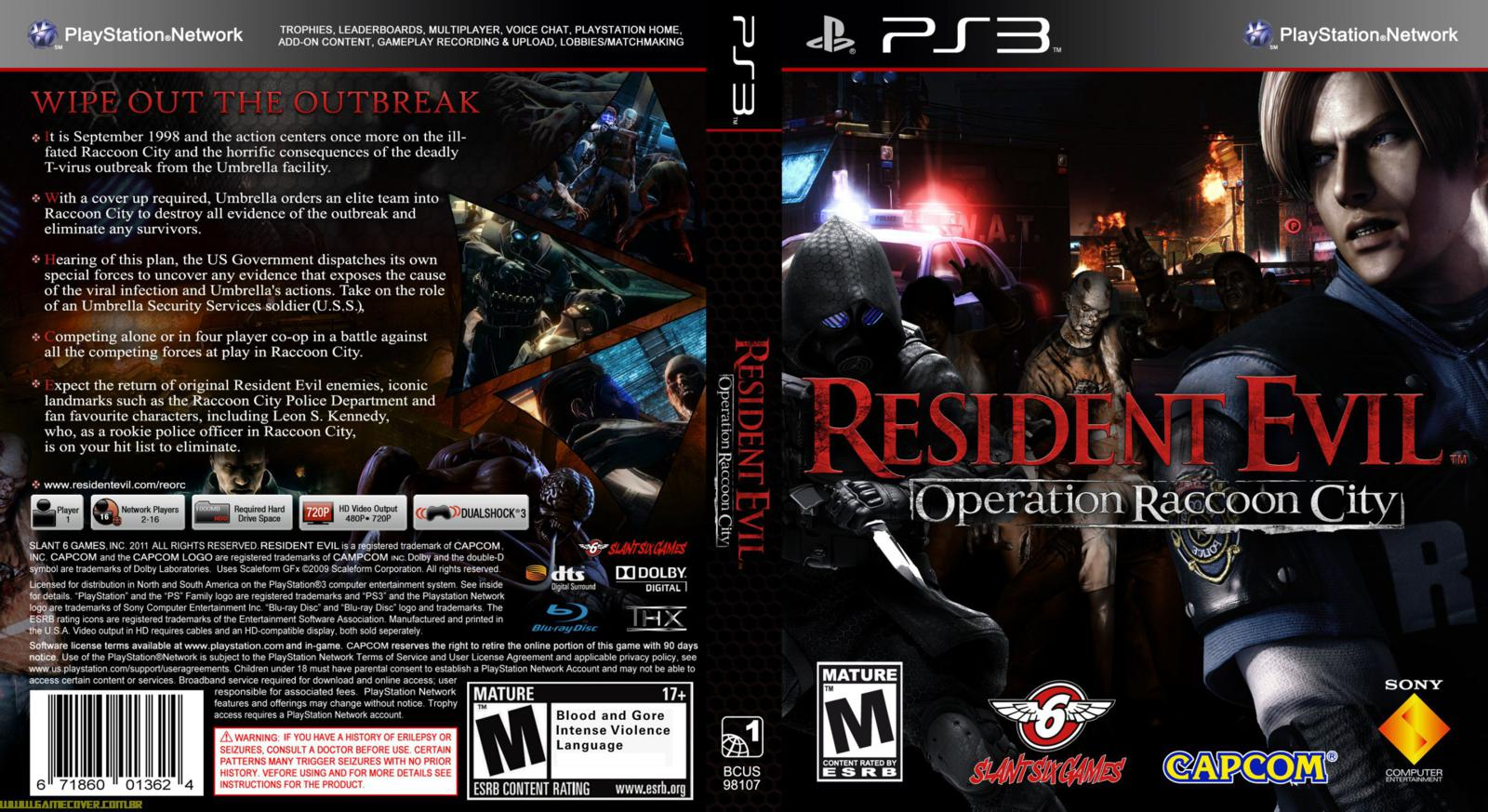 Resident Evil Operation Raccoon City Matchmaking
