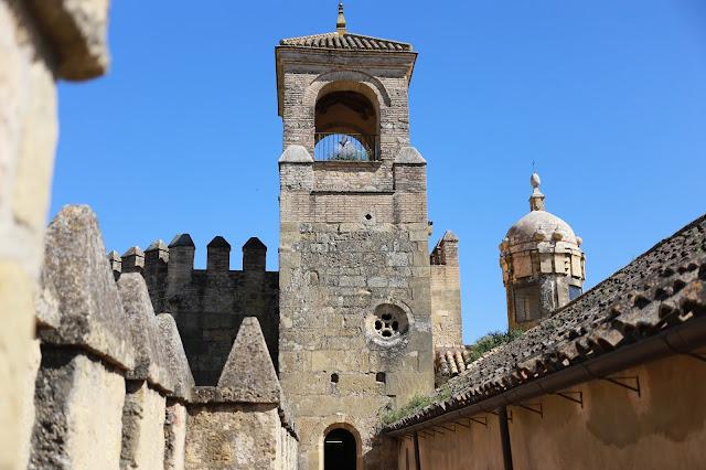 Parte superior murallas del Alcázar de los Reyes Cristianos