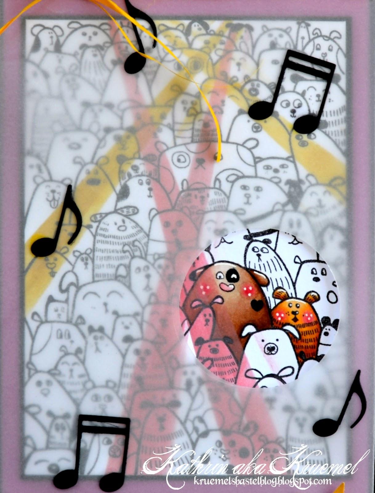 Kruemels Bastel-Blog: Eine Konzertkarten-Verpackung