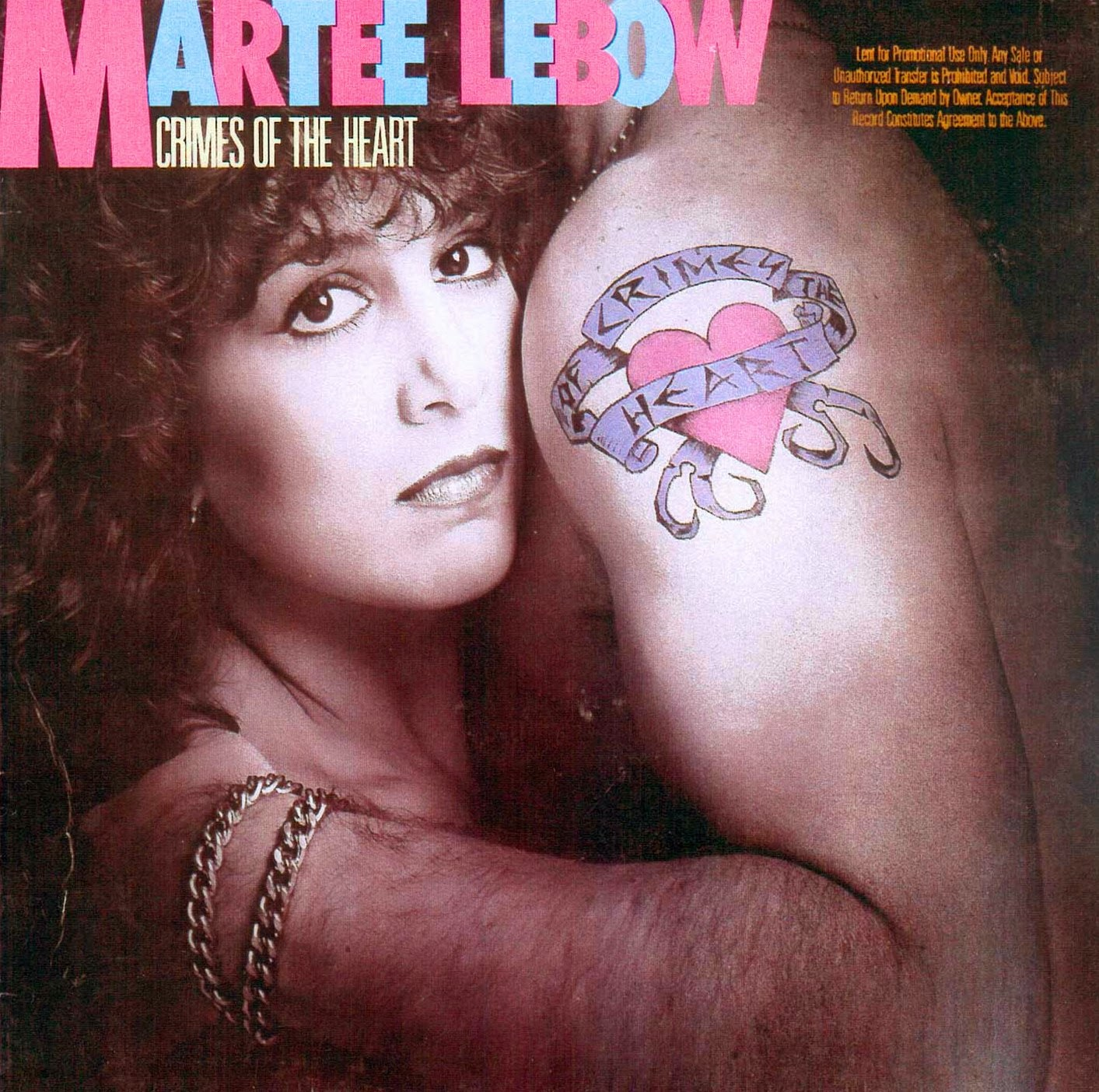 Martee Lebow Crimes of the heart 1986 aor melodic rock