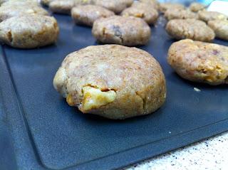 Vegan Gluten Free Tahini and Date Cookies