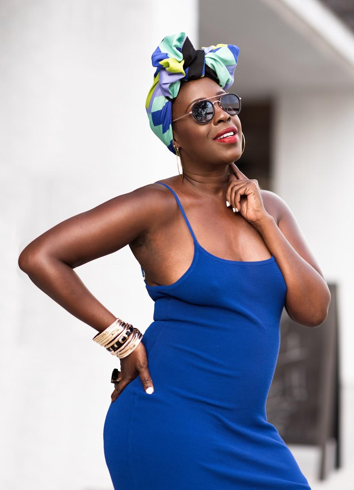 African Caribbean Head Wrap Style