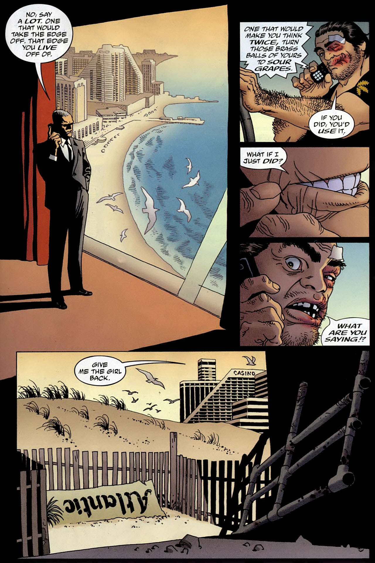 Read online 100 Bullets comic -  Issue #96 - 16