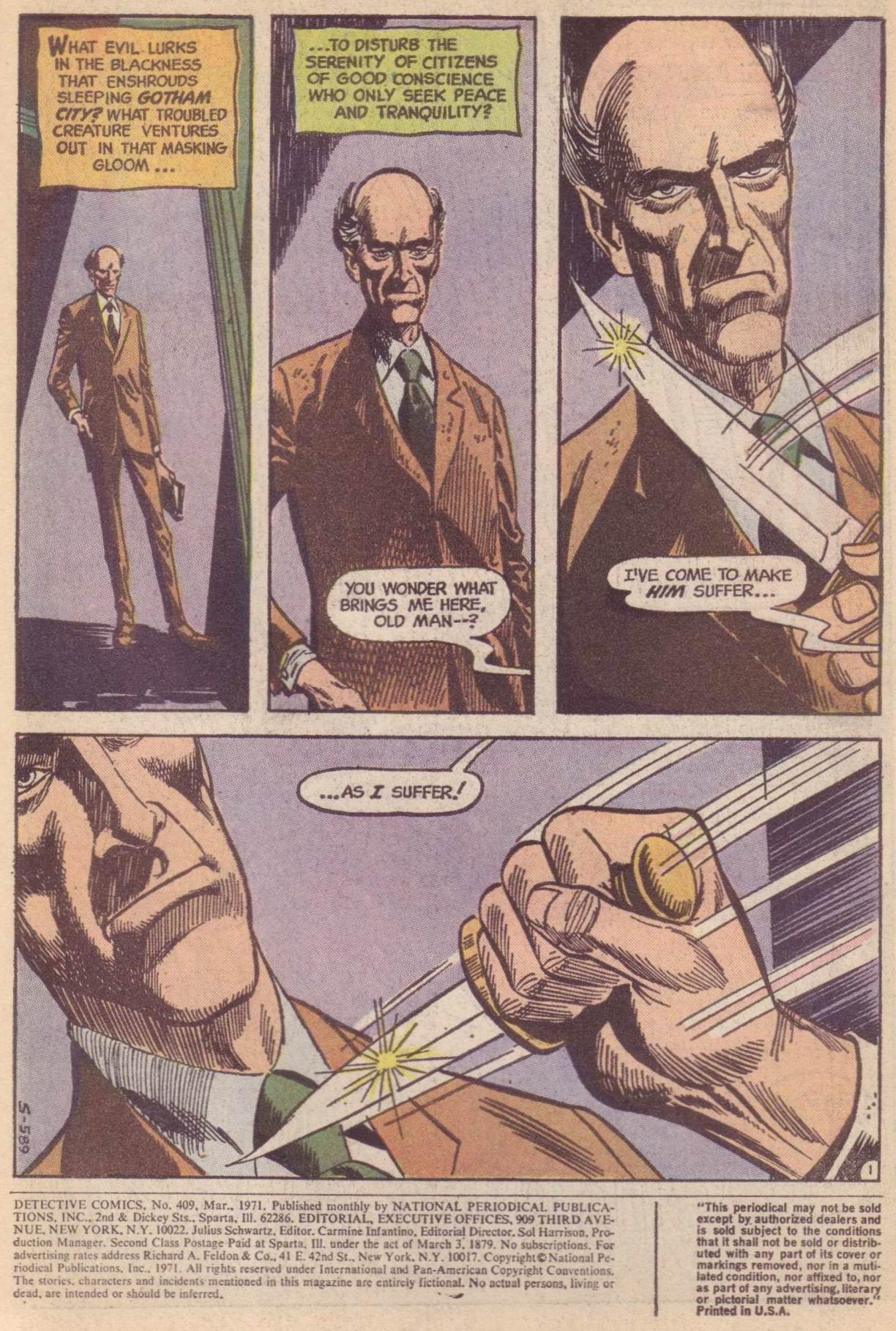 Detective Comics (1937) 409 Page 2