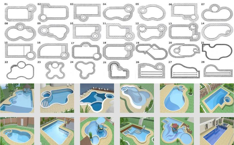 Popular 50+ Different Swimming Pool Designs And Shapes