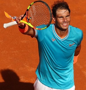 Rafael Nadal beats Novak Djokovic for 9th Italian Open title 2019.