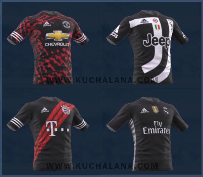 EA SPORTS FIFA 18 x adidas Digital 4th Kits (Real Madrid, Bayern Munich, Manchester United, Juventus)