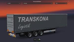 Standalone Trailer Krone Transkona