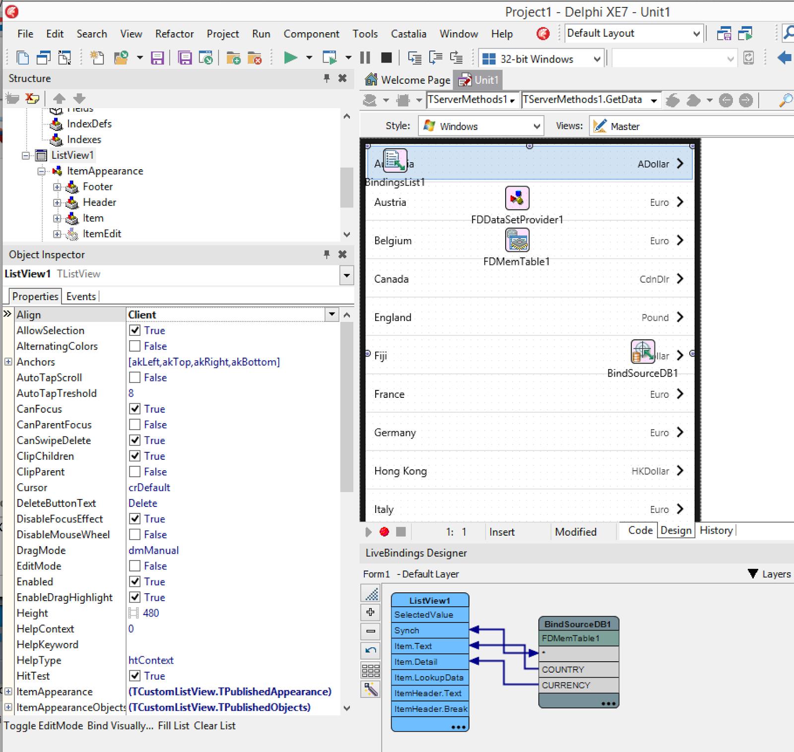 Delphi & Dintorni Blog: TFDDataSetProvider: un supporto a design