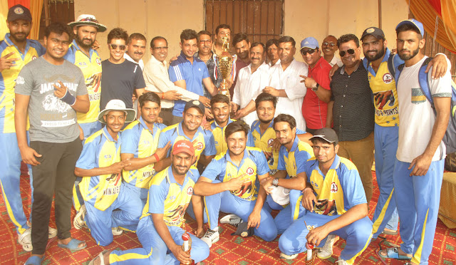 rawal-won-the-championship-of- ravinder-fagna-sunday-cricket-league-faridabad