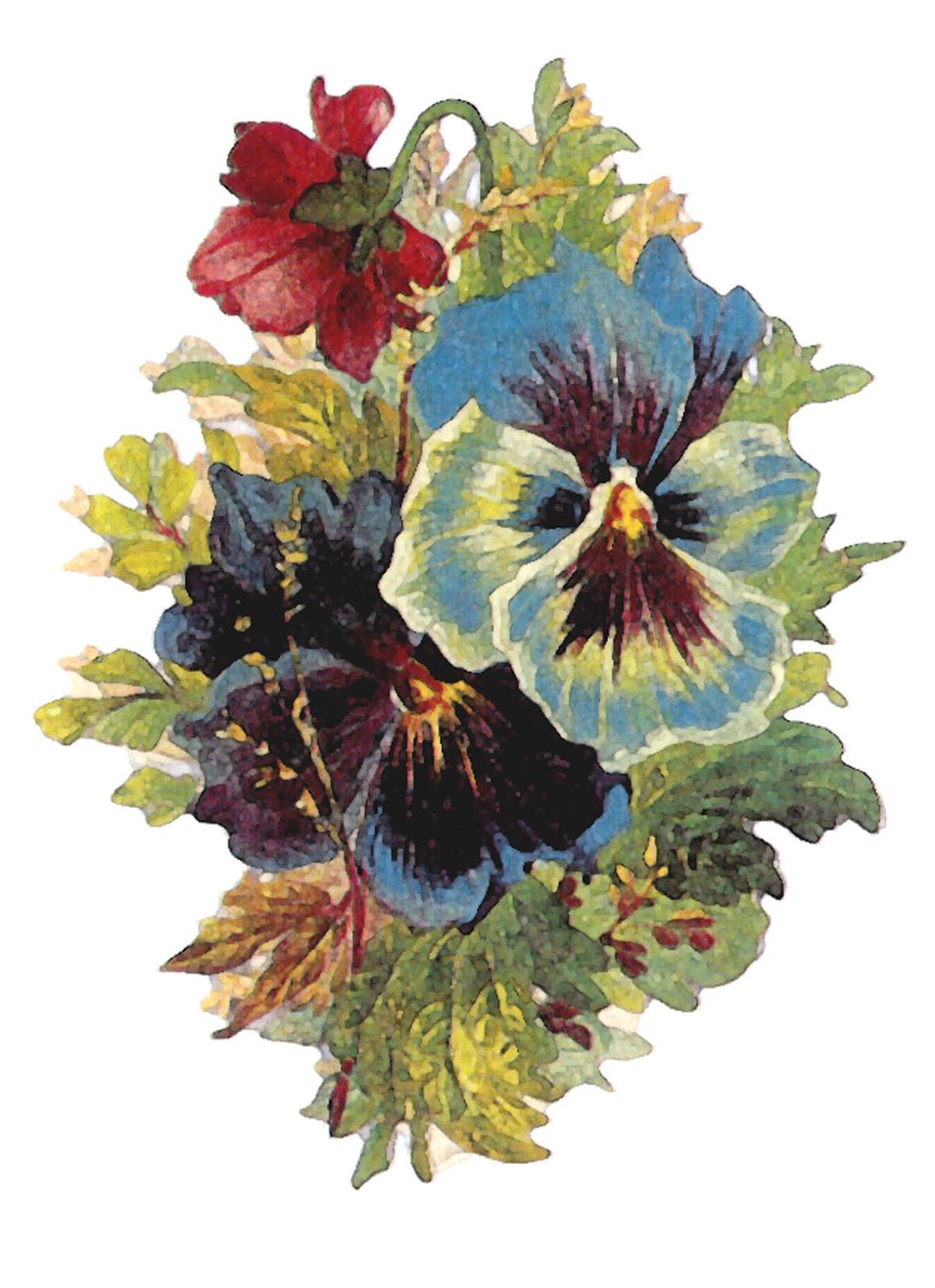 Vintage Flower Art 75