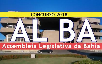 Concurso Assembleia Legislativa da Bahia 2018