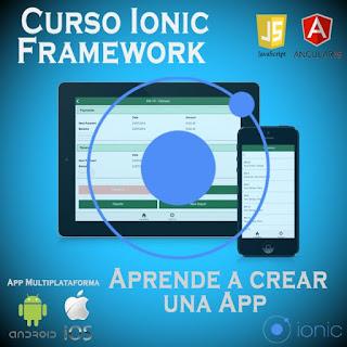 Aprende a crear apps desde cero con Ionic Framework