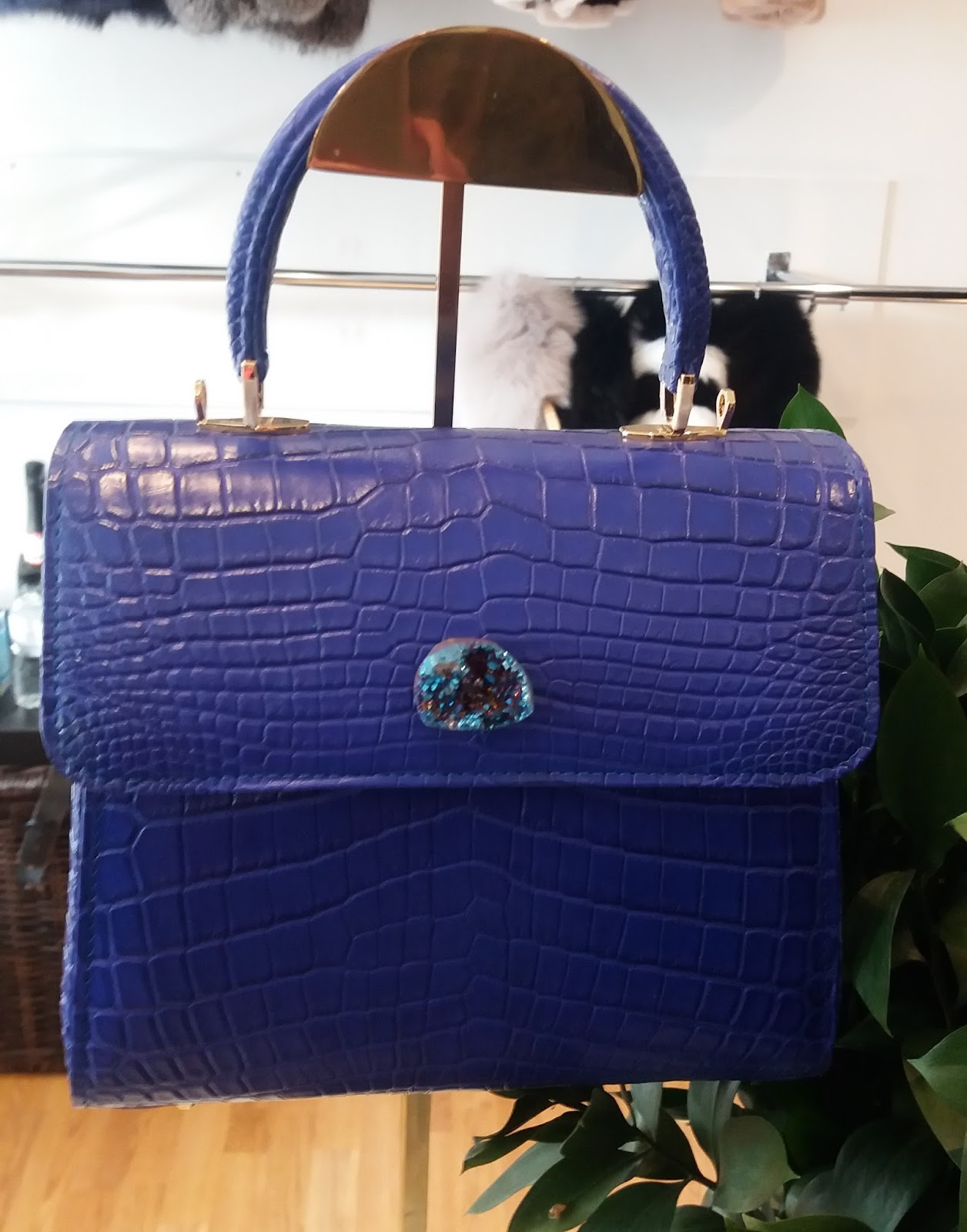Statement Bag - Bleu by VIDA VIDA UBfwvV