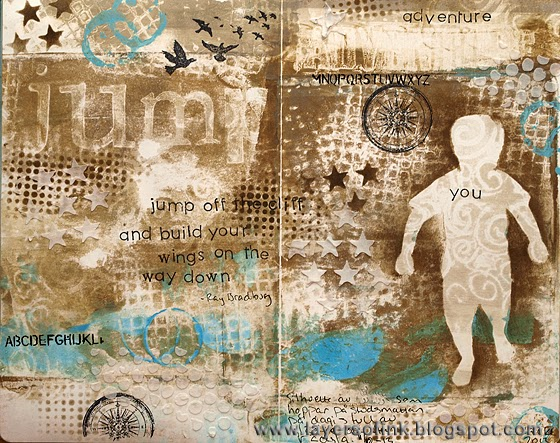 Jump Art Journaling - Layers of ink