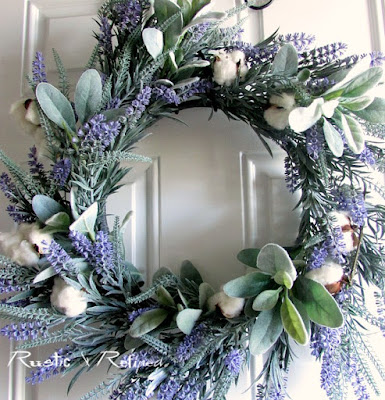 French inspired Spring Wreath