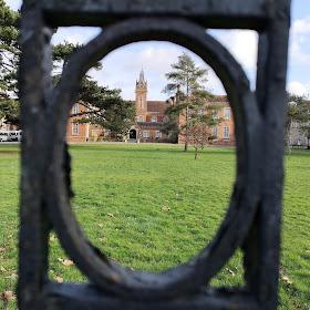 Carew Manor through the gates (2019)