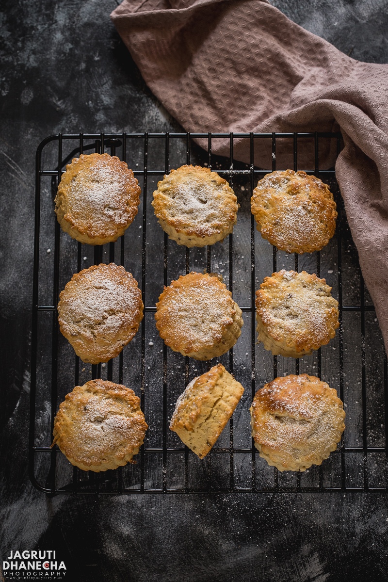 Lavender Scones with an excellent floral aroma and taste would look great for any summer afternoon or cream tea. There is nothing like a plate of lavender scones smothered with clotted cream and strawberry preserve!
