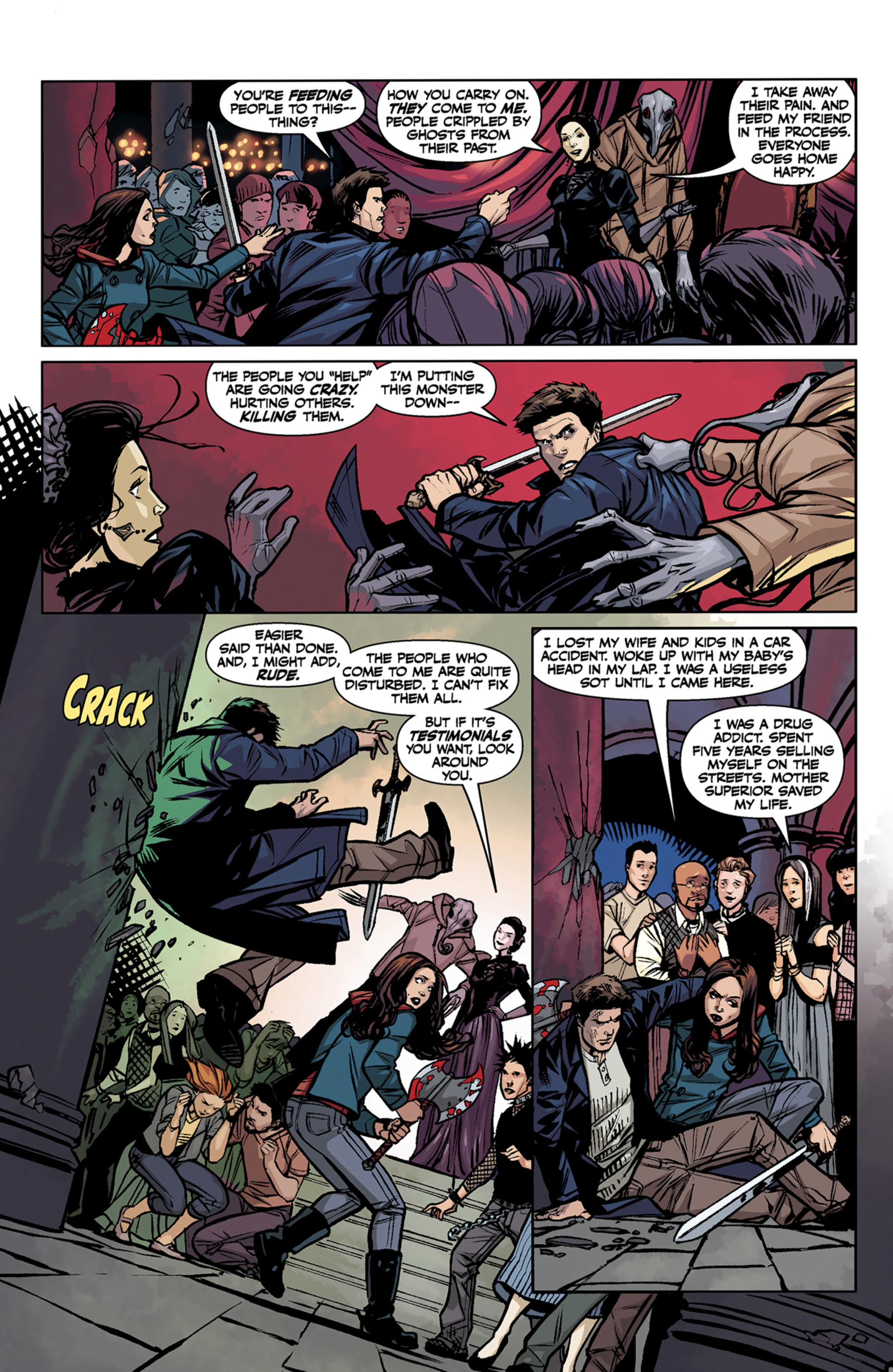 Read online Angel and Faith comic -  Issue #7 - 8