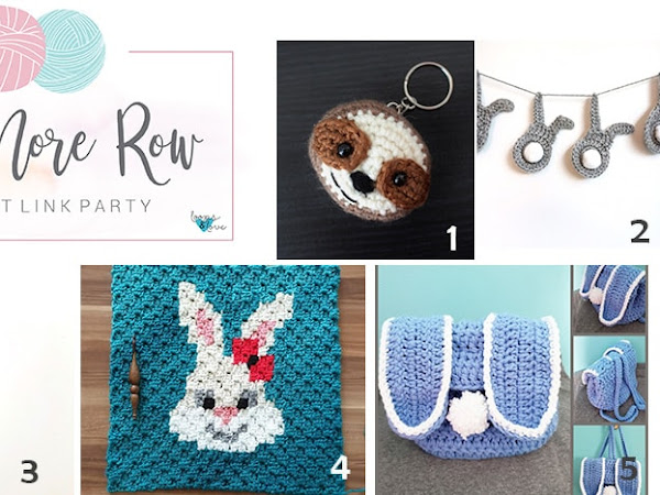 One More Row - Crochet Link Party #5