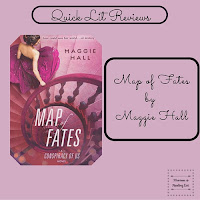 Map of Fates by Maggie Hall a quick review on Reading List
