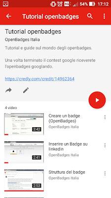 Youtube contest openbadges