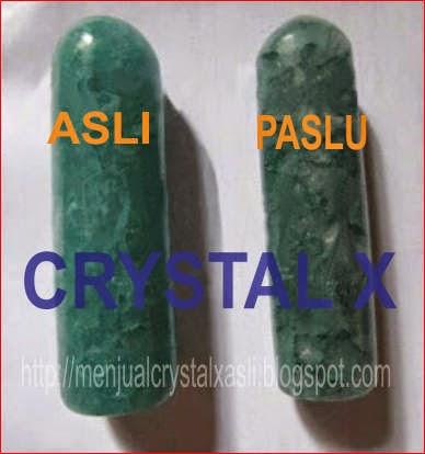 Ciri-Ciri Kemasan Crystal X Asli terbaru
