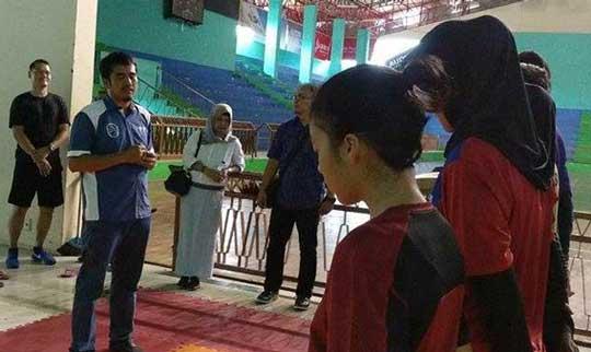 taekwondoin kota cirebon genjot kemampuan fisik