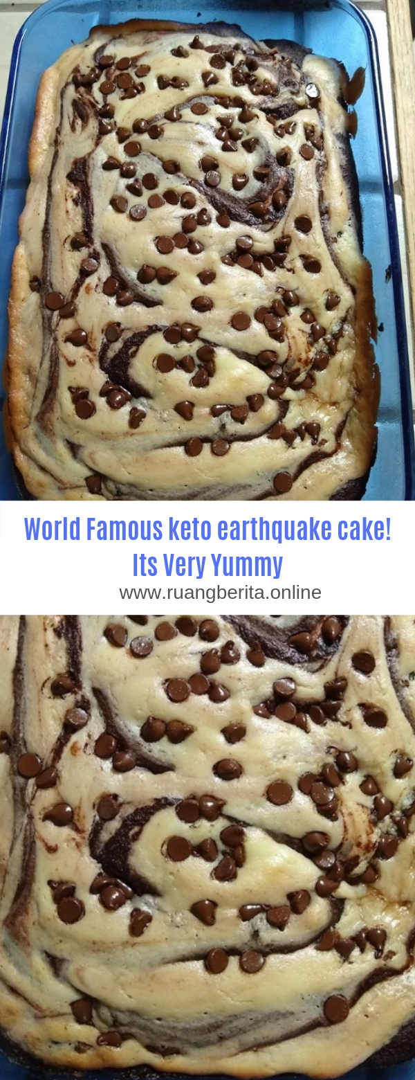 World Famous keto earthquake cake! Its Very Yummy