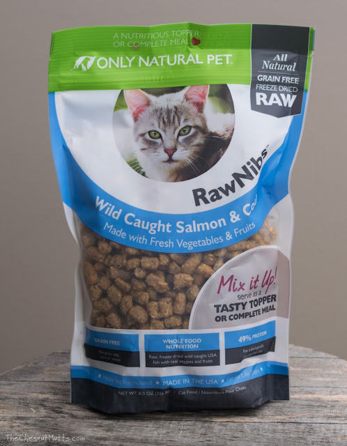 freeze-dried fish cat food topper