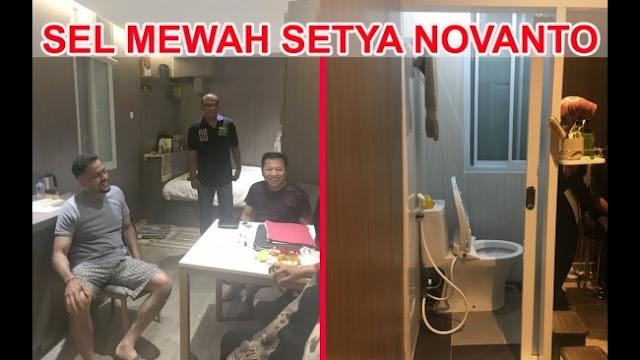 Lapas Setya Novanto Mewah, ICW Duga Ada Kongkalikong