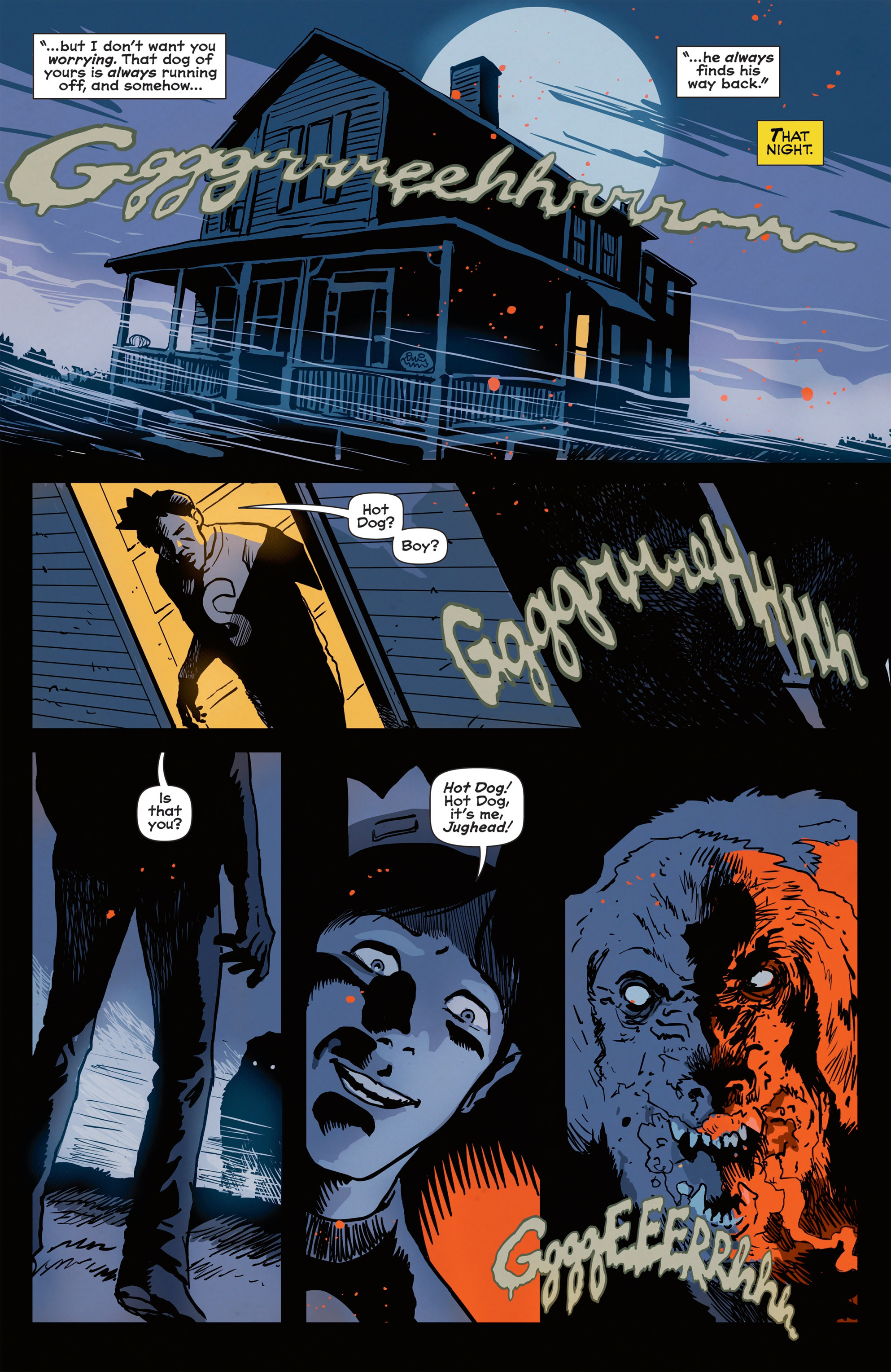 Read online Afterlife with Archie comic -  Issue #1 - 15