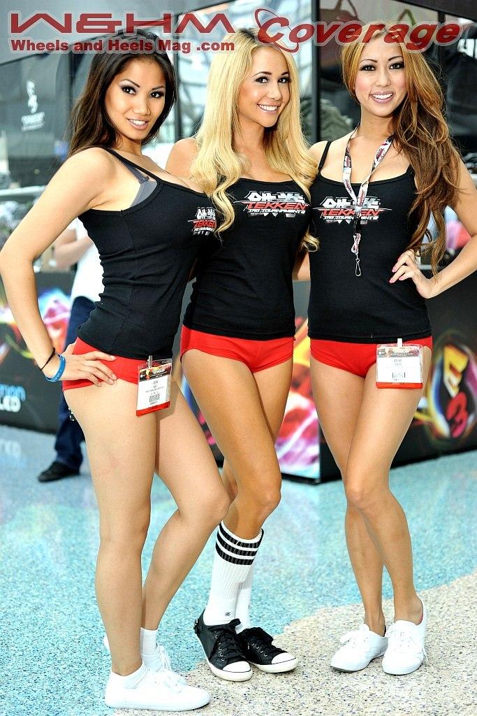 Wheels And Heels Magazine / W&HM: E3 Tekken Girls Media ...