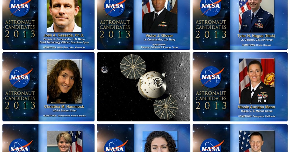 NASA Selects 2013 Astronaut Candidates | Astronaut for Hire