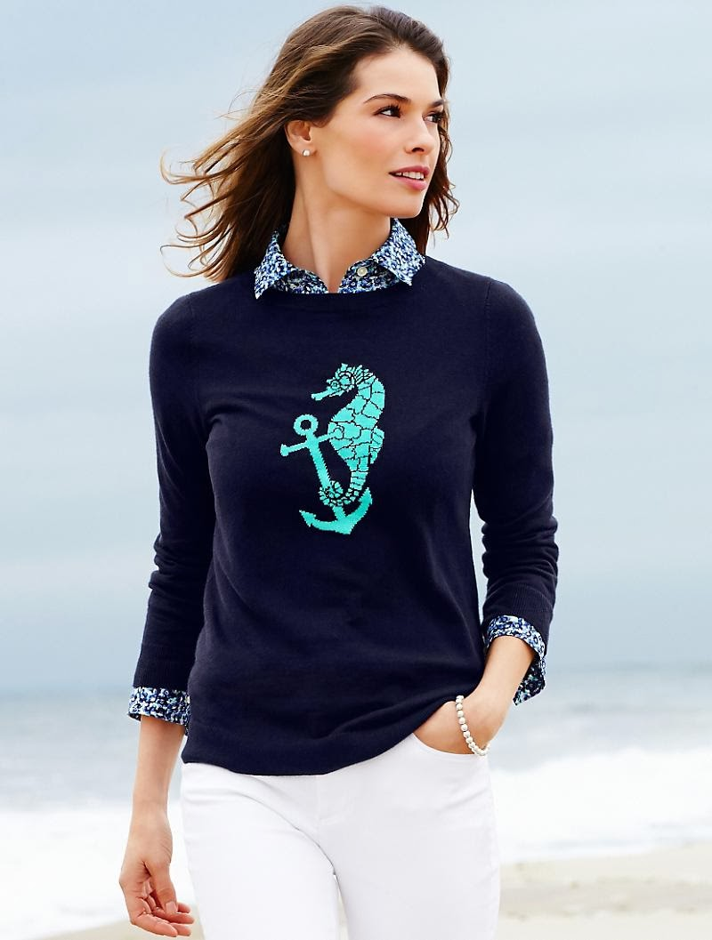 Nautical By Nature Talbots Spring 2014