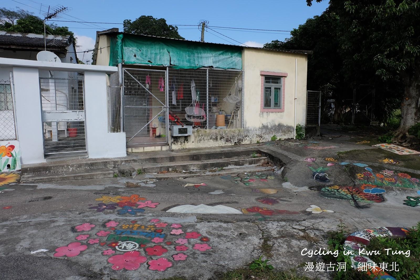 漫遊古洞,細味東北: 坪洋壁畫村 屬於香港的彩虹眷村