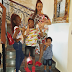 Ex beauty queen Adaeze Yobo shares adorable photo of her family