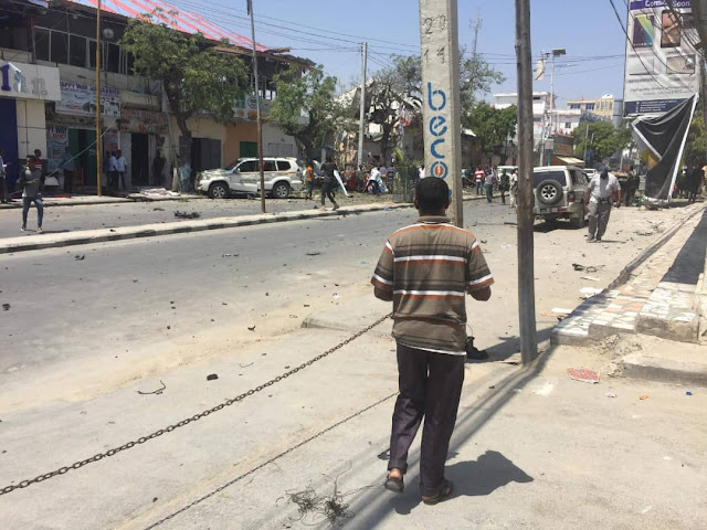 Mogadishu Bleeds As Al Shabaab Attack 7 Times In A  Bloody Week